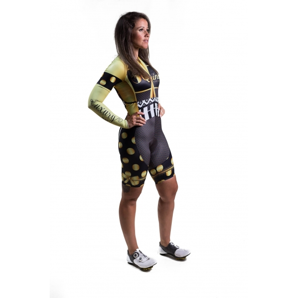CYCLING SUIT LUXURY GOLD OUTONO