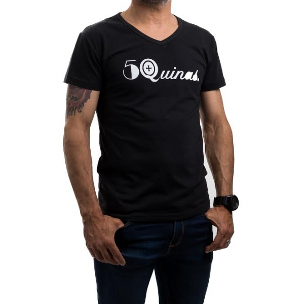 T Shirt 5Quinas Black